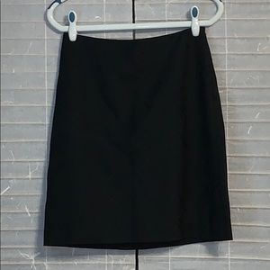 Ann Taylor black skirt with accents